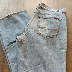 7 for all man kind jeans size 34